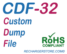 Dataproducts® DDS32/DDS40 Print Cartridge CDF Reset