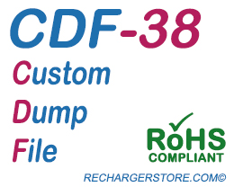 Dell® 2130cn/2135cn Toner (High Capacity) Yellow CDF reset